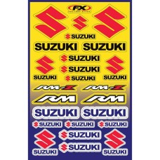SUZUKI STICKER SHEET